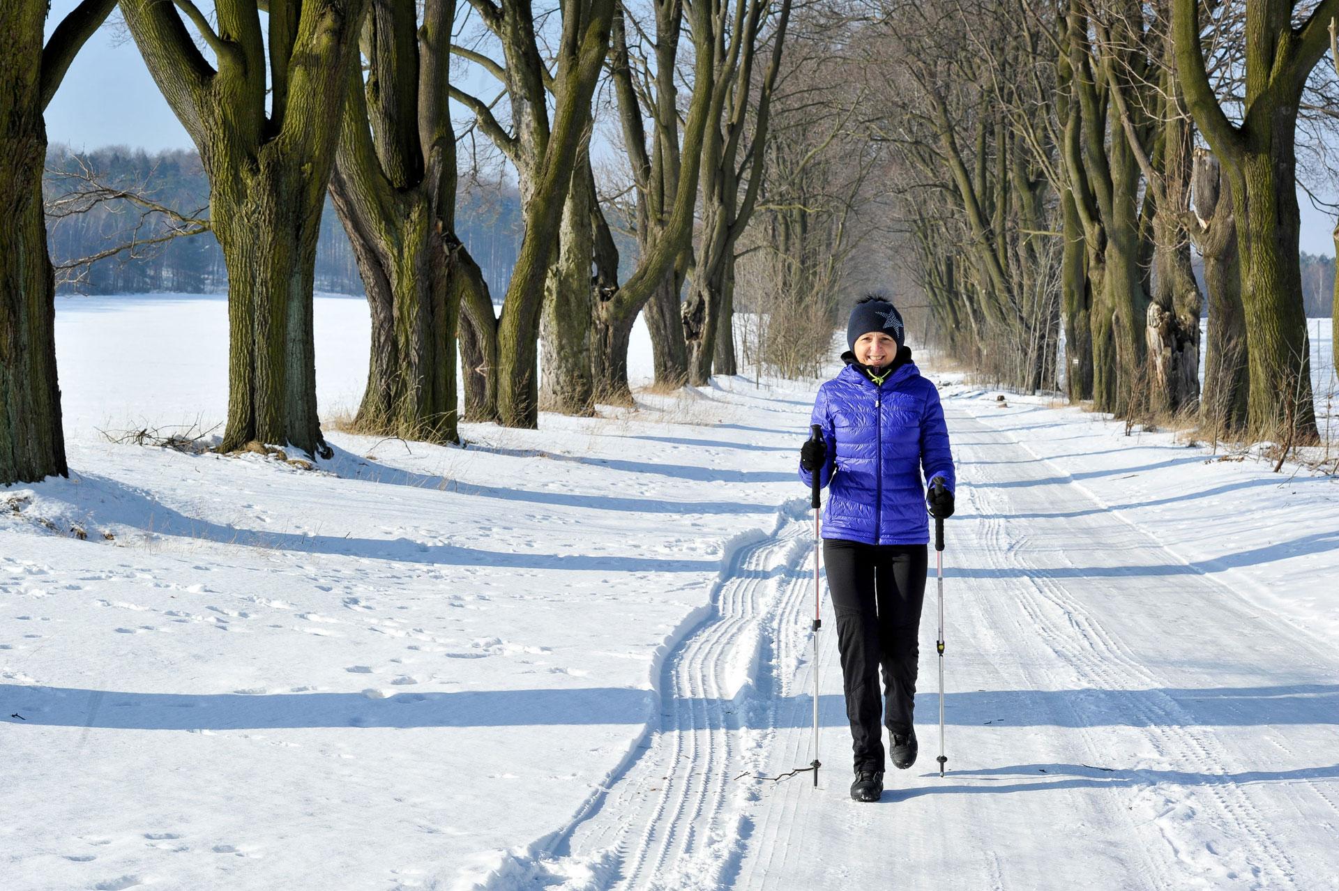 Die Umgebung von Pinnow ist per Pedes zu jeder Jahreszeit schön
